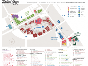Peddlers Village Map Accommodations   The Golden Plough Inn at Peddler's Village